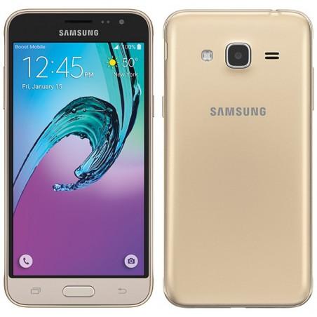Téléphone Portable Samsung Galaxy J3 / 4G / Double SIM / Gold