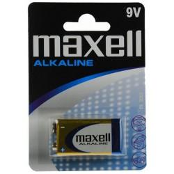 Pile Maxell Alcaline 9V 6LR61
