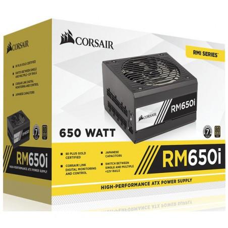 Boite d'alimentation Corsair RM550x / 80PLUS Gold / 550W / Modulaire