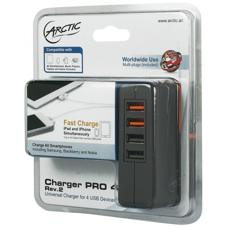 Chargeur Arctic Smart 4800 mA / 4 Ports