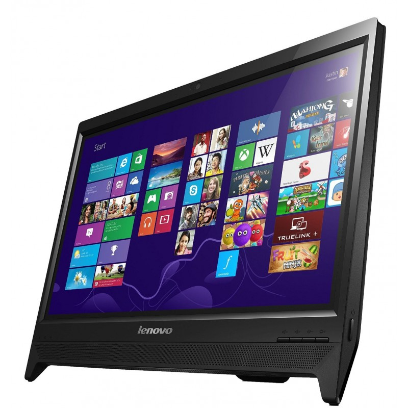 pc de bureau tout en un lenovo c260 tactile quad core. Black Bedroom Furniture Sets. Home Design Ideas