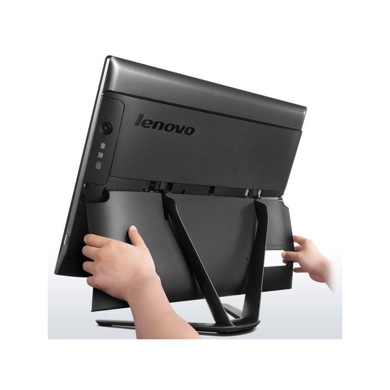 pc de bureau tout en un lenovo c40 30 i3 4go noir licence bitdefender 1 an. Black Bedroom Furniture Sets. Home Design Ideas