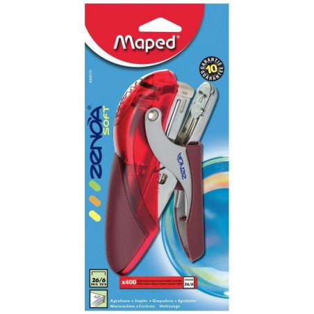 Mini agrafeuse pince Maped Zenoa soft