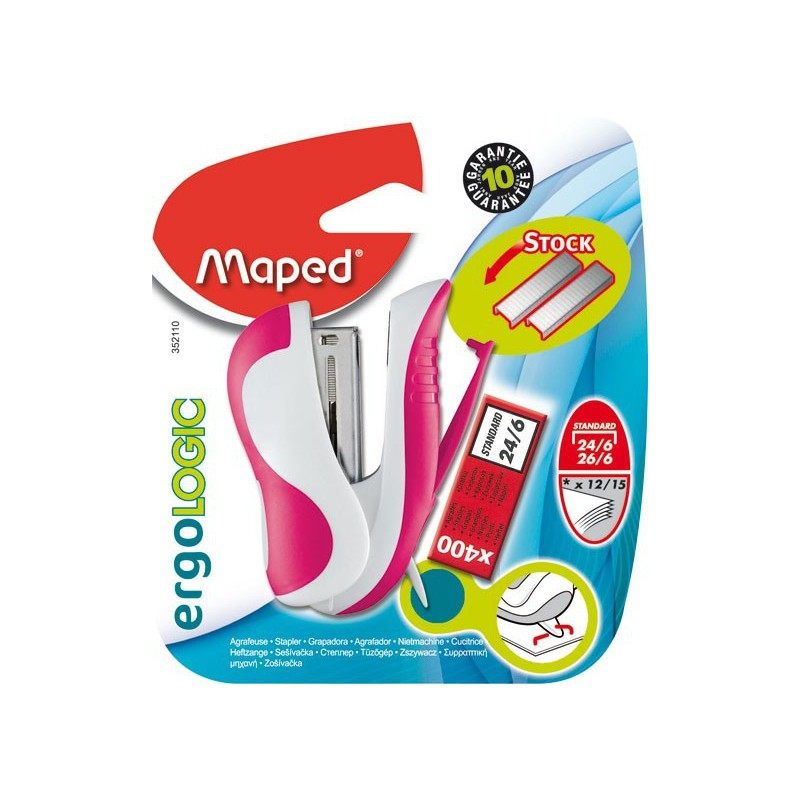 Mini Agrafeuse Maped Ercologic 24/6