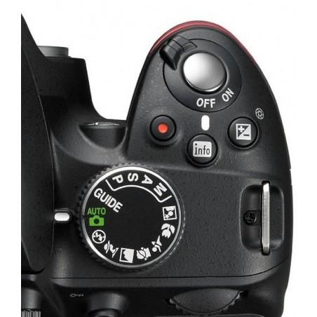 Réflex Numérique Nikon D3200 + AF-S DX 18-55 VR 24MP