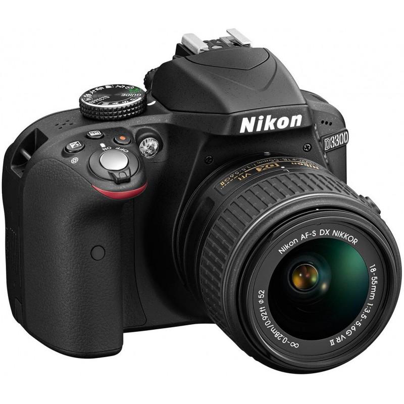 Réflex Numérique Nikon D3300 + Objectif Nikkor 18-55mm