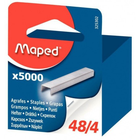 Boite brochable de 5000 Agrafes Maped 48/4 galvanisé
