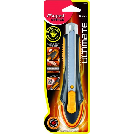 Cutteur Maped Ultimate Gaucher 18 mm