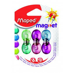 6x Aimants Maped FANCY 13 mm
