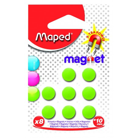 8x Aimants Maped Blister 10 mm