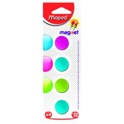 4x Aimants Maped Blister 22 mm