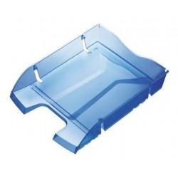 Corbeille à courrier Maped A4 Helit / Bleu Transparent