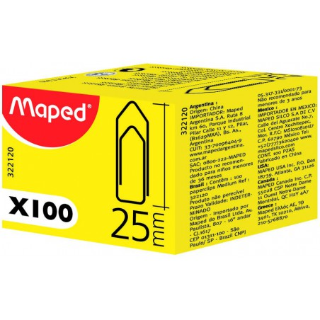100 Trombones Medium Maped 25 mm