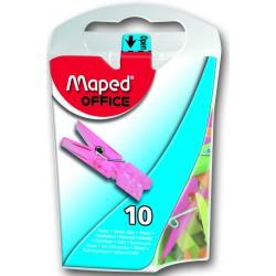 Boite distributrice de 10x pinces Maped 35 mm