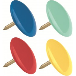 100x Punaises couleurs Maped 10 mm