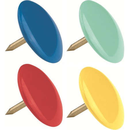 100x Punaises couleurs Maped 10 mm