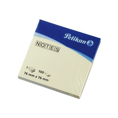 Bloc 100 Notes repositionnables Pelikan 76 x 76 mm
