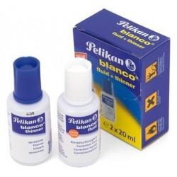 Correcteur Fluide Pelikan 2 bouteilles 20 ml