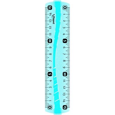 Règle plate Maped Flex Incassable 15 cm
