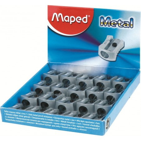 Taille-crayons Maped métal 1 trou
