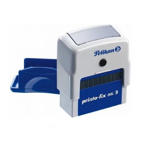 Cachet automatique Pelikan 9x25 mm 3 lignes