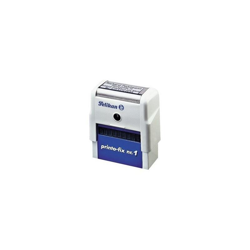 Cachet automatique Pelikan 22x59 mm 6 lignes