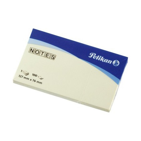 Bloc 100 Notes repositionnables Pelikan 127 x 76 mm