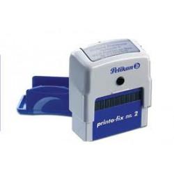 Cachet automatique Pelikan 14x38 mm 4 lignes