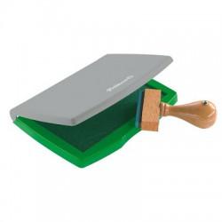 Boîte à Tampon Pelikan 7x11 cm Vert