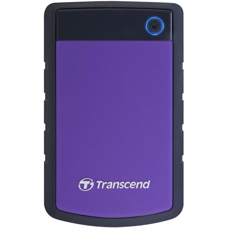 Disque Dur Externe 2.5'' AntiChocTranscend StoreJet 25H3 / 3 To / USB 3.0