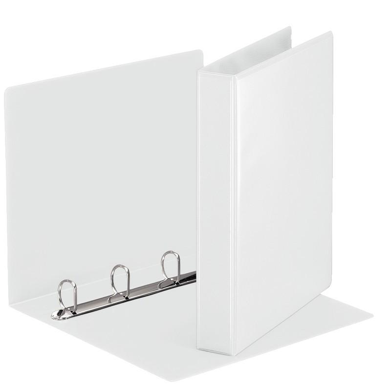 Classeur à anneaux personnalisable Esselte A4 Essentials 30 mm /  Blanc