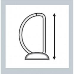 Classeur à anneaux personnalisable Esselte Essentials Blanc