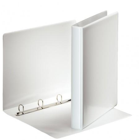 Classeur à anneaux personnalisable Esselte A4 Essentials 20 mm / Blanc