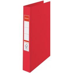 Classeur à anneaux Esselte A4 Standard 35 mm / Rouge