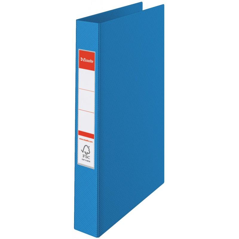 Classeur à anneaux Esselte A4 Standard 35 mm / Bleu