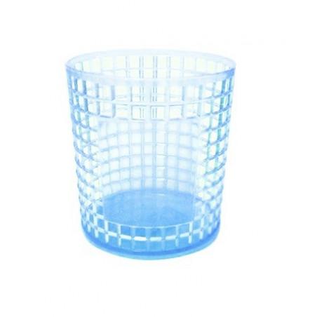 Porte Stylo Cylindre en Cristale / Transparent
