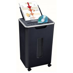 Destructeur coupe croisée Geha Office X8 CD / Noir