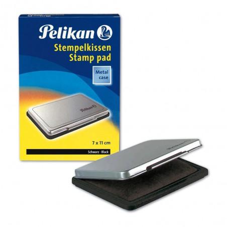 Boîte à Tampon Pelikan 7x11 cm Noir