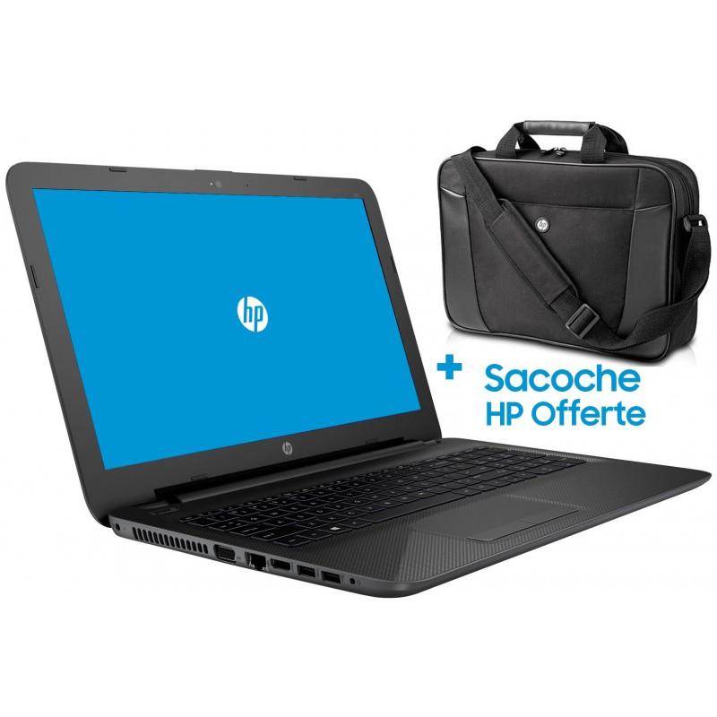 Pc portable HP 250 G4 / i3 4é Gén / 8 Go + Sacoche HP Originale