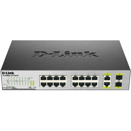Switch 16 ports 10/100Mbps Base-T