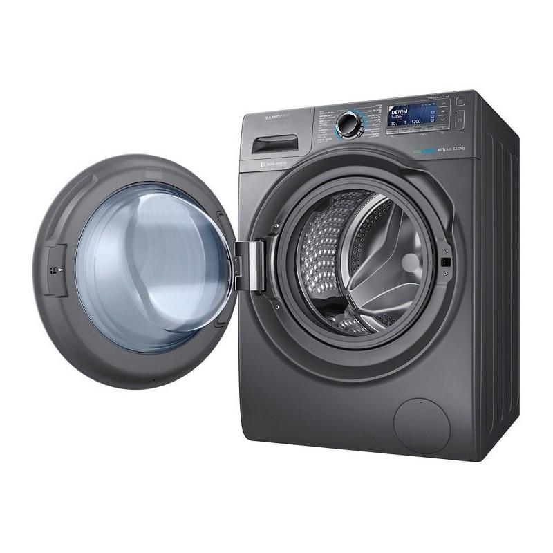machine laver samsung 12kg inox. Black Bedroom Furniture Sets. Home Design Ideas