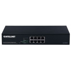 Switch Intellinet PoE+ Web-Smart 8 ports