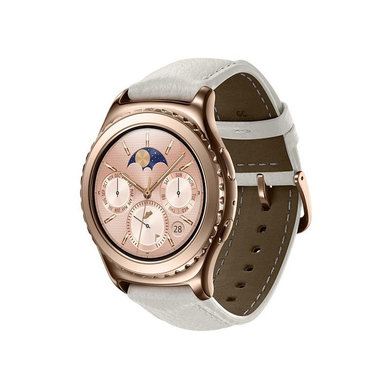 montre connect samsung gear s2 classic or rose. Black Bedroom Furniture Sets. Home Design Ideas