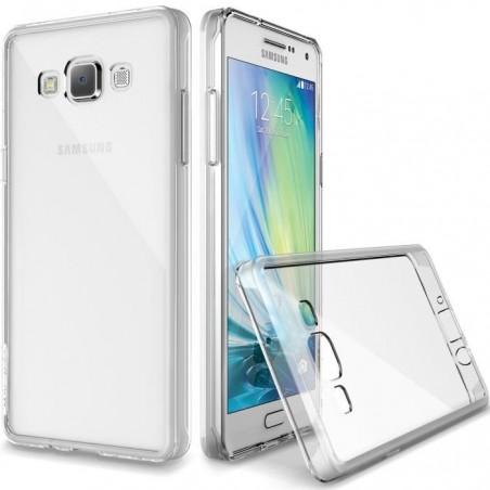 Coque en Silicone pour Samsung Galaxy A7 / Transparent