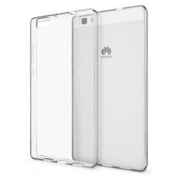Coque en Silicone pour Huawei P8 Lite / Transparent