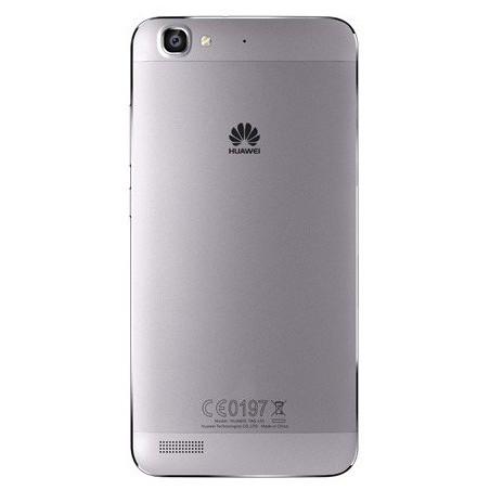 Téléphone Portable Huawei GR3 / 4G / Double SIM / Gris + Film de protection + Coque
