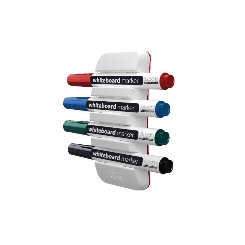 Support Magnétique Horizontal pour 4 Marqueurs