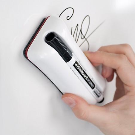 Effaceur magnétique DUO pour tableau blanc
