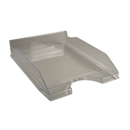 Corbeille à courrier EXACOMPTA ECOTRAY / Gris Transparent