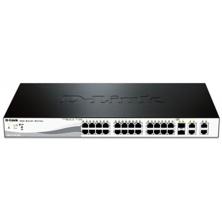 Smart switch D-Link 28 ports 10/100 Mbps PoE